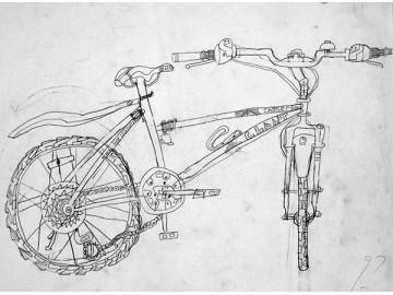 速寫寫生《自行車》曹晉豪